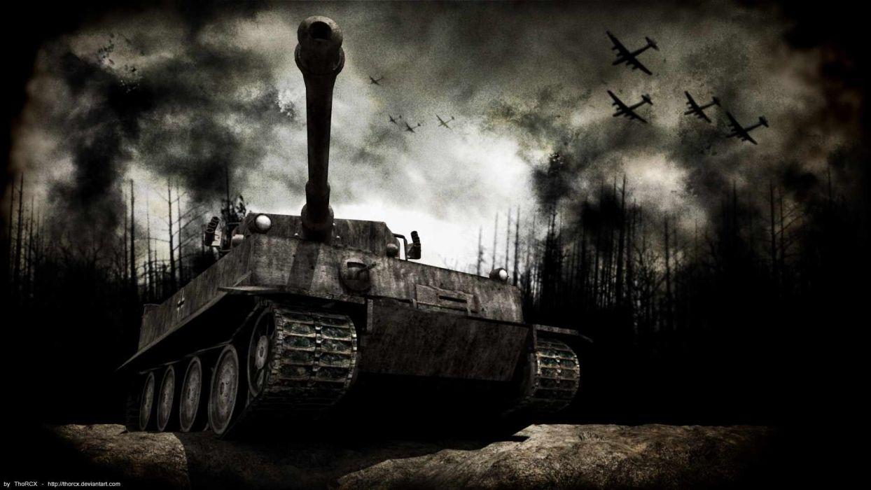 PANZER TANK weapon military tanks retro     s wallpaper