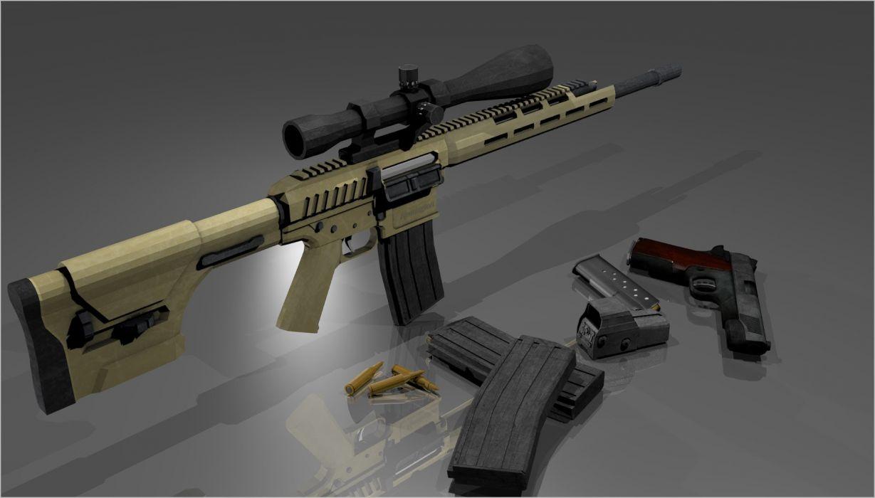 Remington ACR weapon gun military rifle police     e wallpaper