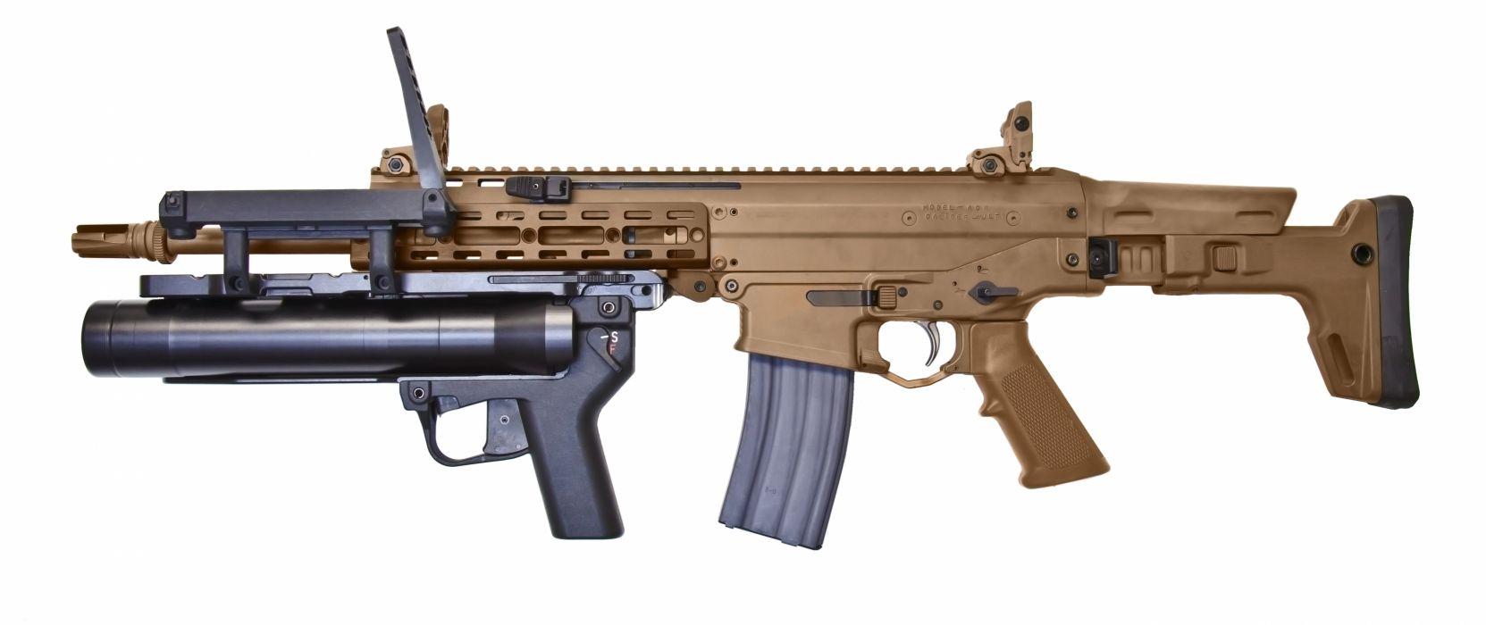Remington ACR weapon gun military rifle police     g wallpaper