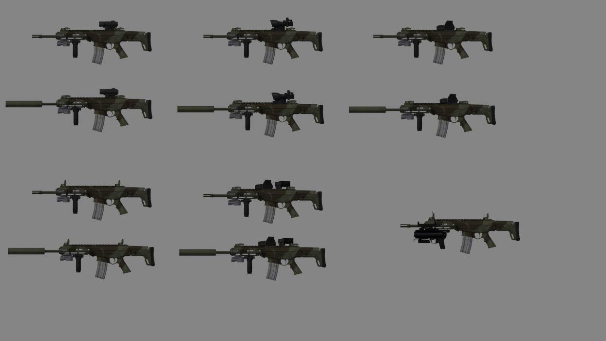 Remington ACR weapon gun military rifle police    fs wallpaper