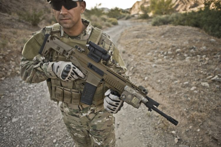 Remington ACR weapon gun military rifle police g wallpaper