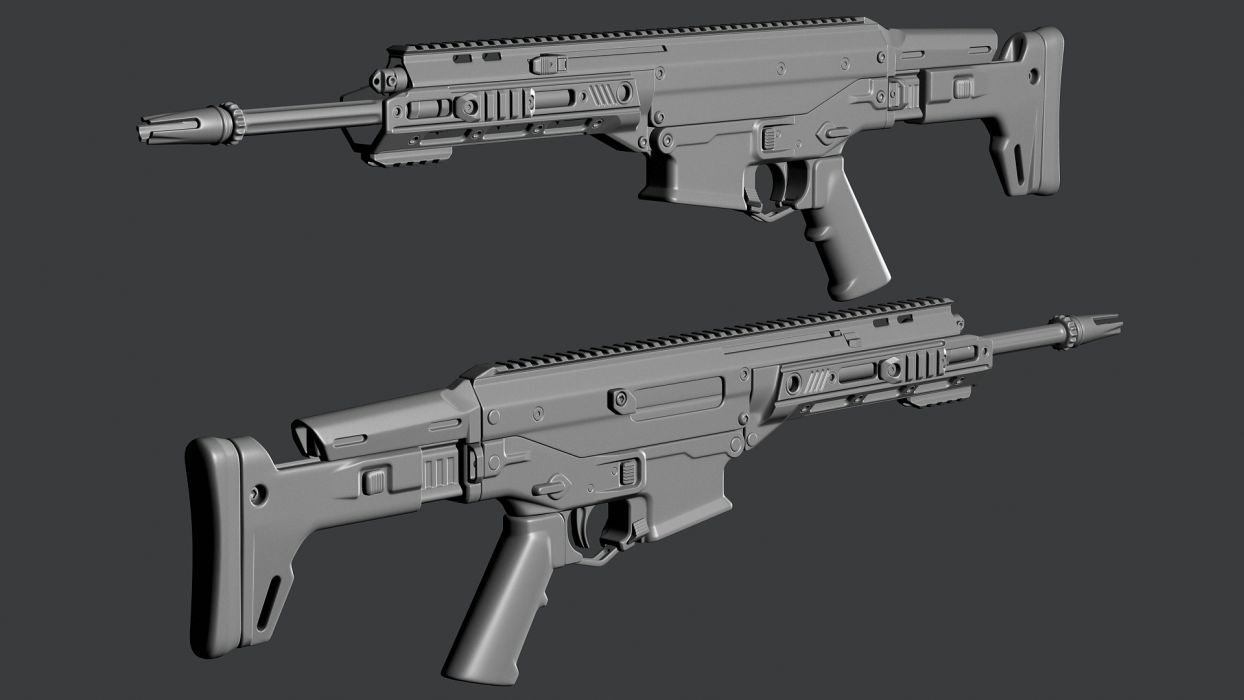 Remington ACR weapon gun military rifle police   h wallpaper