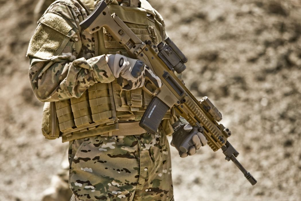 Remington ACR weapon gun military rifle police soldier      g wallpaper