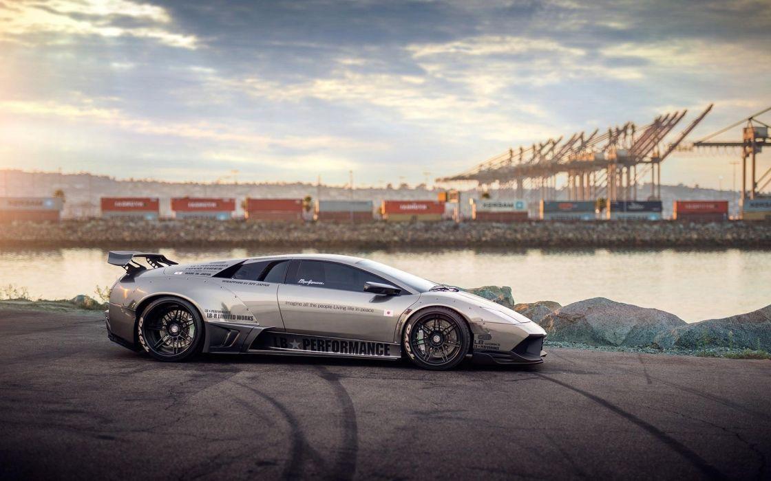 cars Lamborghini Murcielago LP640 wallpaper