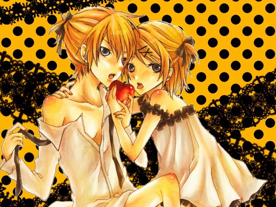 Vocaloid Kagamine Rin Kagamine Len wallpaper