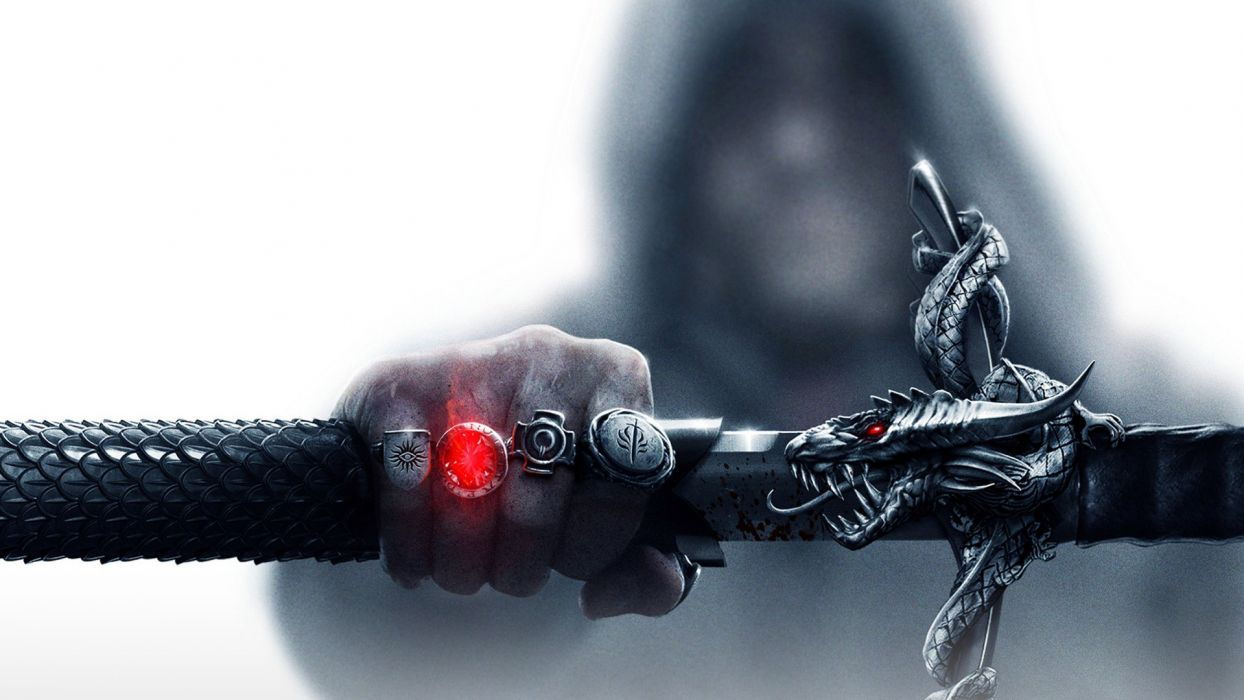 dragons rings Dragon Age swords dragon age inquisition wallpaper