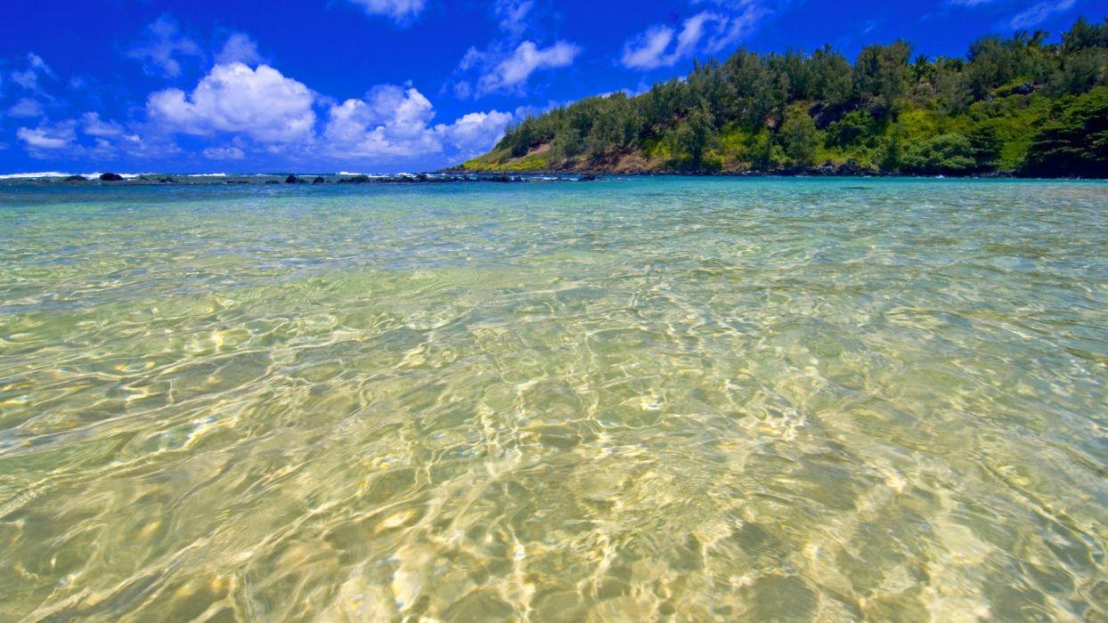 Hawaii turquoise wallpaper