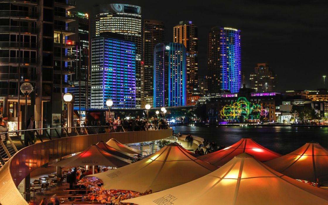 cities night view wallpaper