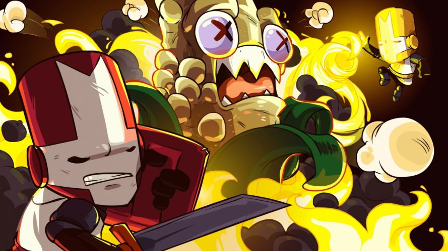video games Castle Crashers wallpaper