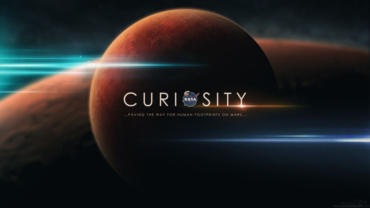 outer space Mars NASA Jootix Curiosity wallpaper
