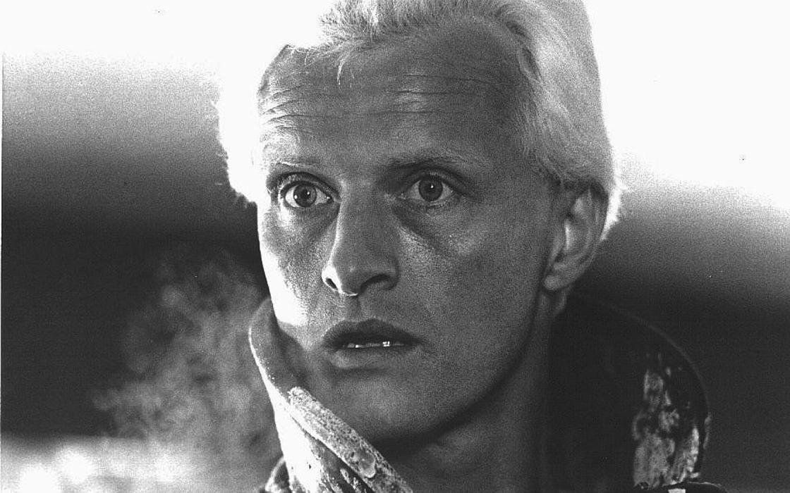 Blade Runner monochrome Rutger Hauer wallpaper