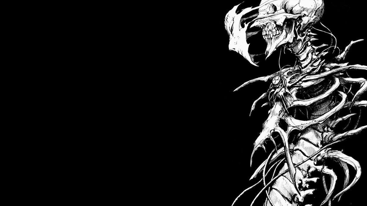 skeletons manga biomega black backgroundhttp://wallpapers_wallbase_cc/rozne/wallpaper-746216_jpg wallpaper