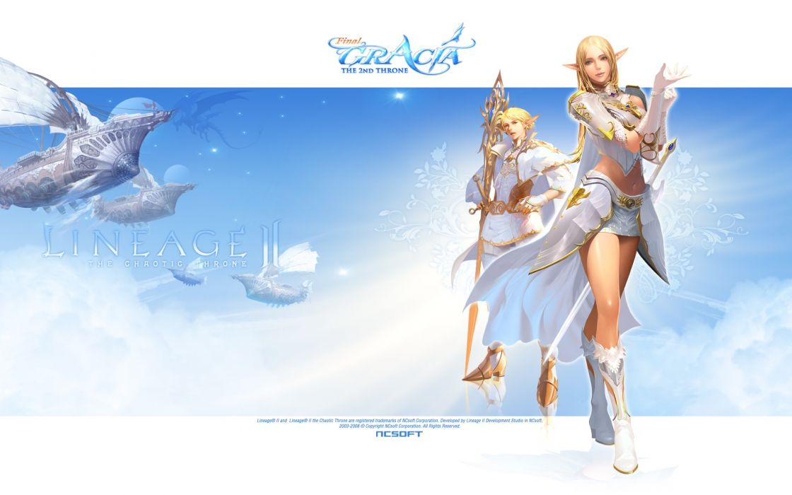 mage Lineage elves Lineage 2 wallpaper