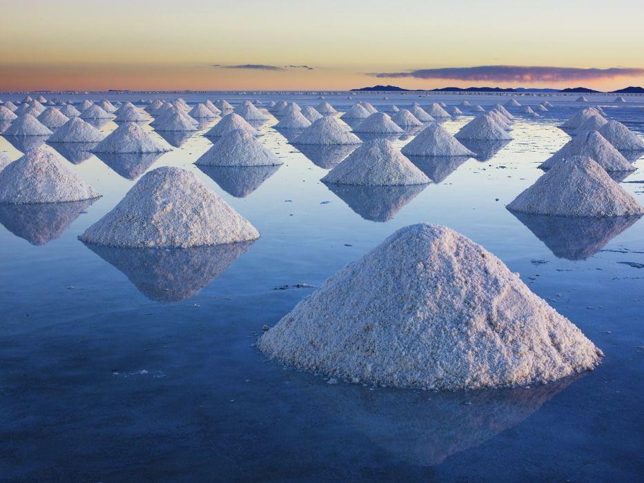 salt Bolivia wallpaper