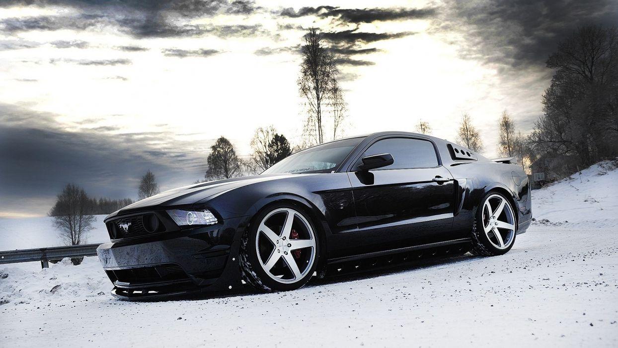women cars Ford Mustang wallpaper