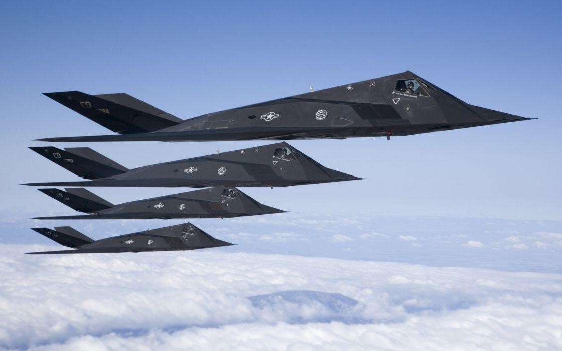 aircraft Lockheed F-117 Nighthawk wallpaper