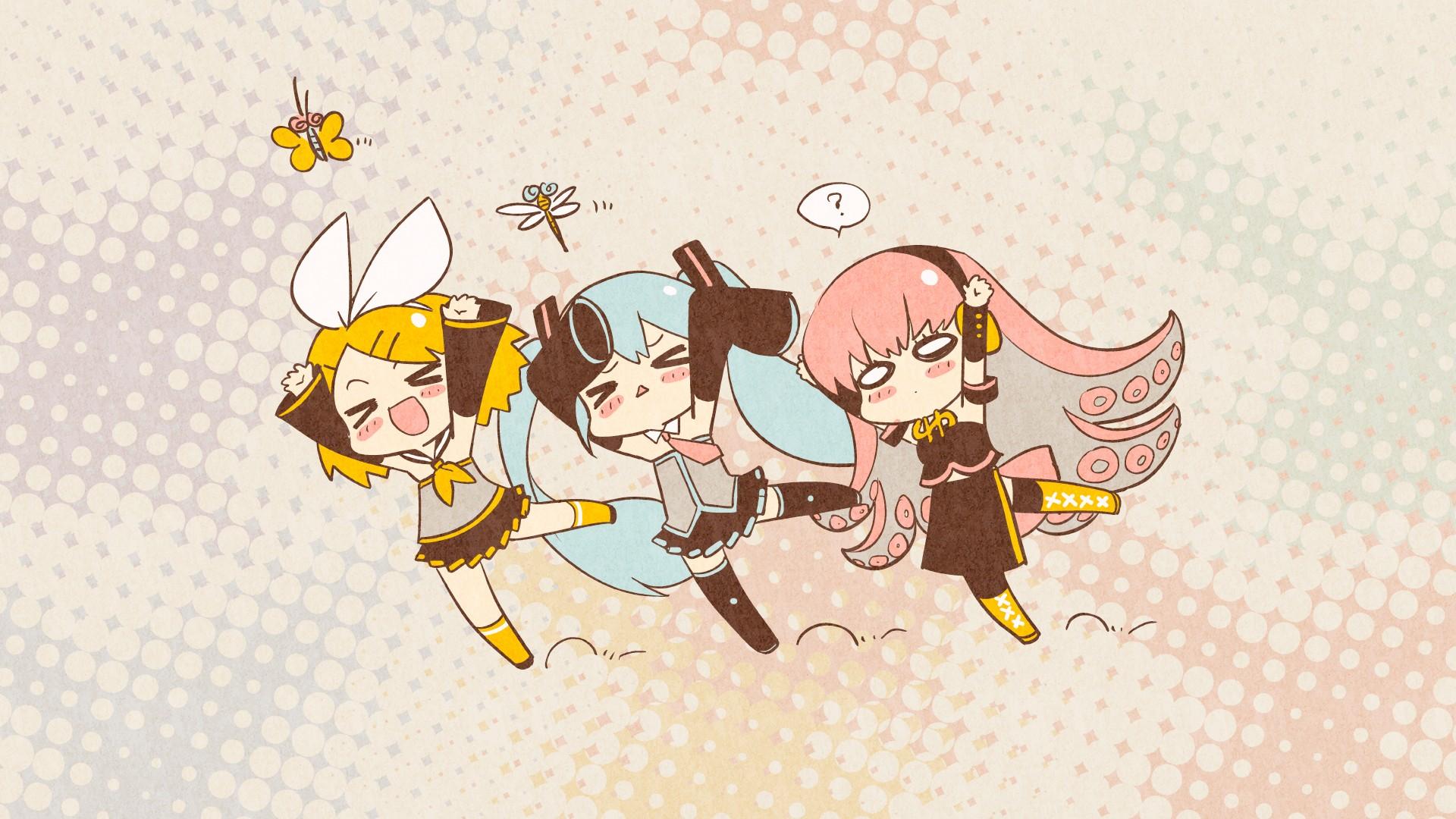 Vocaloid Chibi Group Wallpaper Vocaloid Hatsune Miku ...