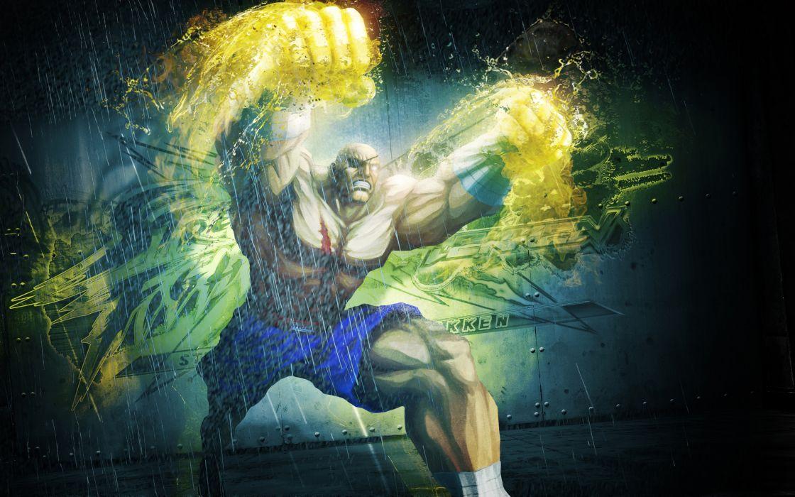 Sagat Bosslogic Street Fighter X Tekken wallpaper