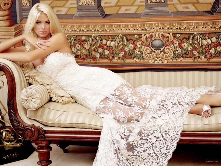 women Victoria Silvstedt  fashion photography wallpaper