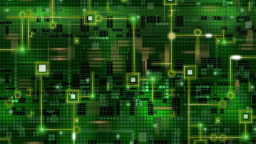 electronic wallpaper