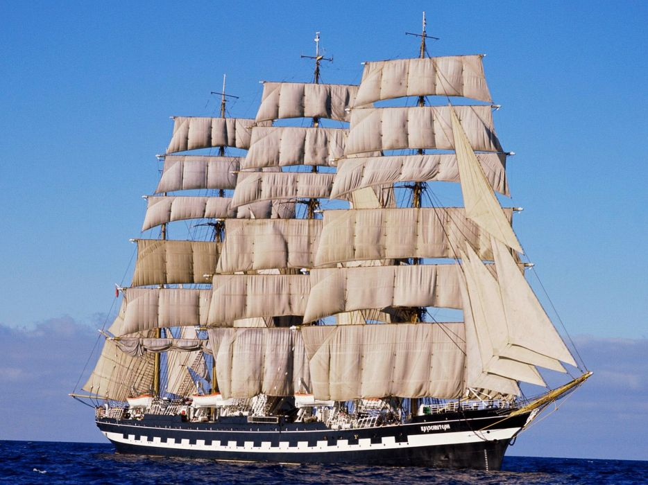ships vehicles sails wallpaper