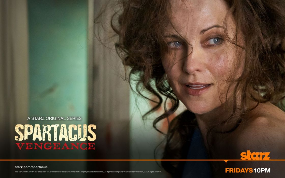 women Lucy Lawless Spartacus TV series wallpaper