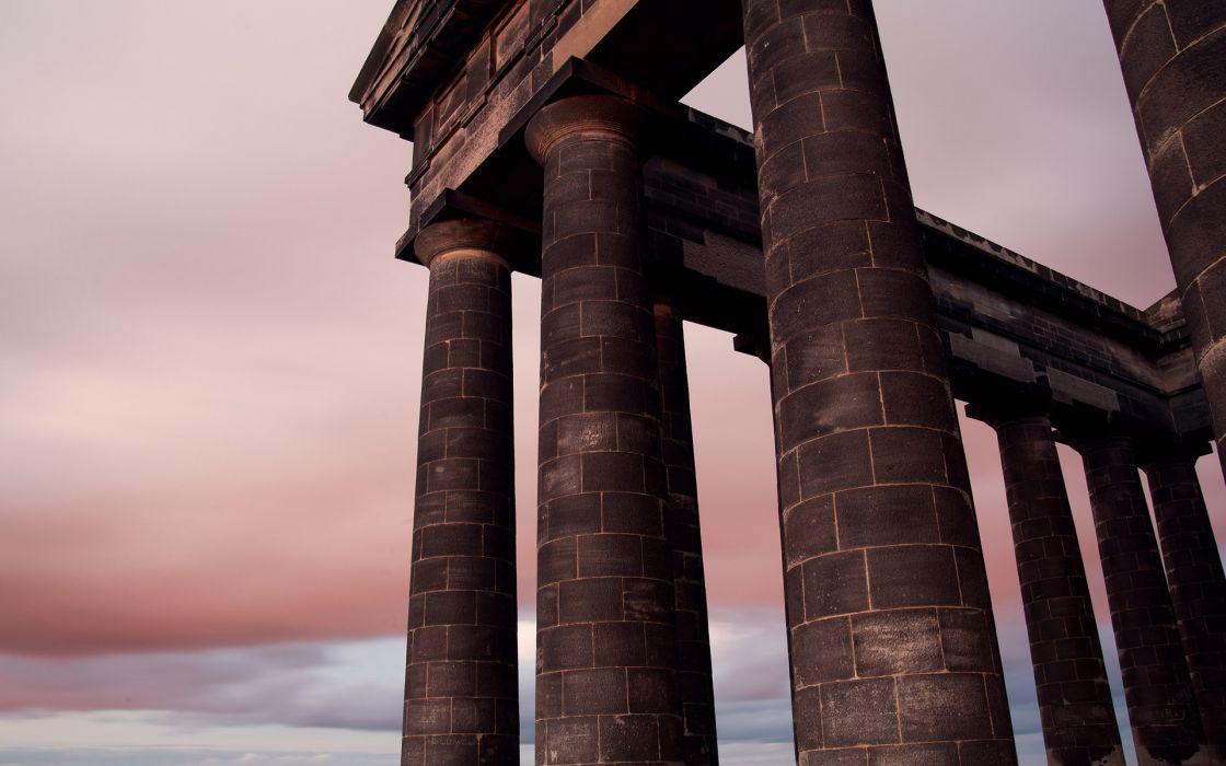 ruins architecture culture wallpaper