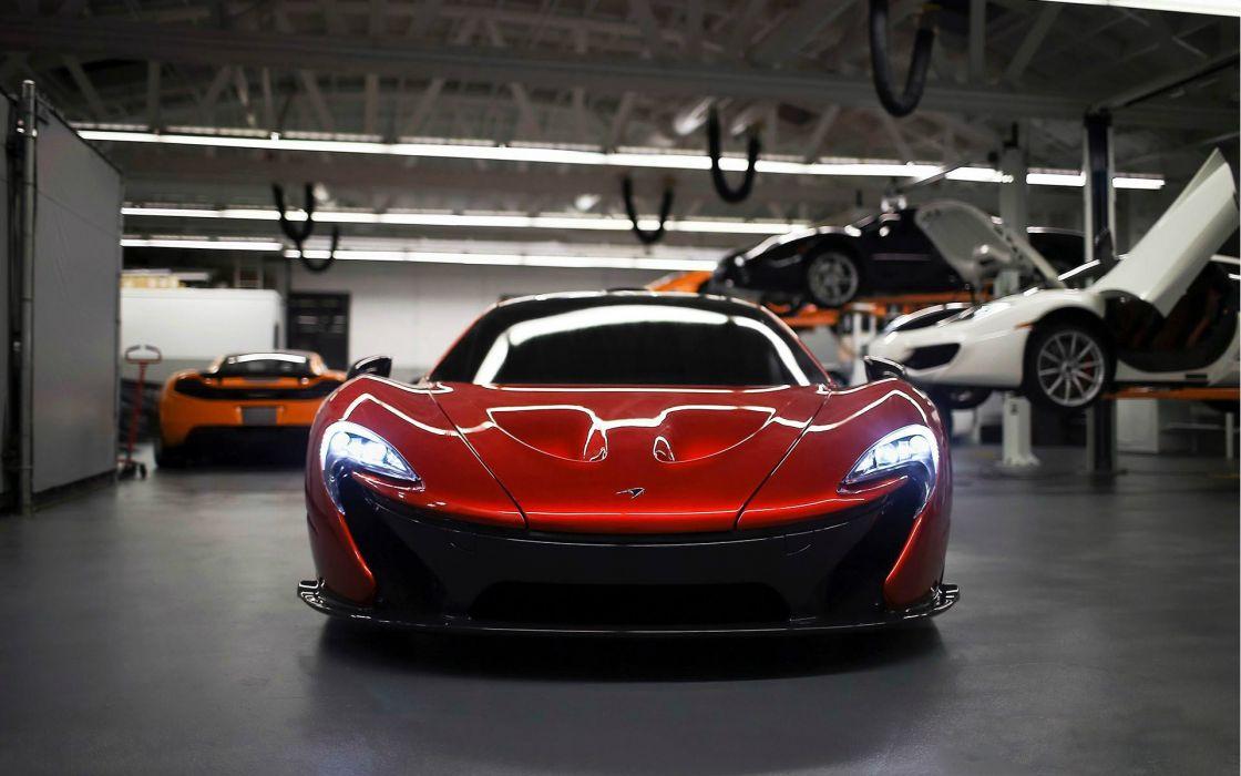 cars McLaren Mclaren P1 wallpaper