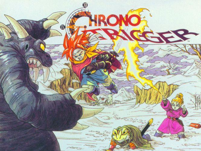 video games Chrono Trigger retro games wallpaper