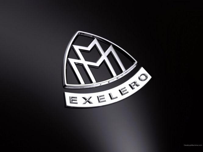 badges supercars emblems Maybach Maybach Exelero Maybach Exelero Concept wallpaper