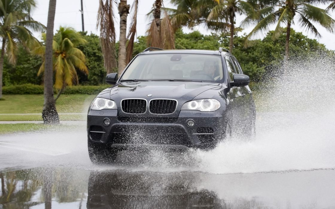 water BMW cars wallpaper