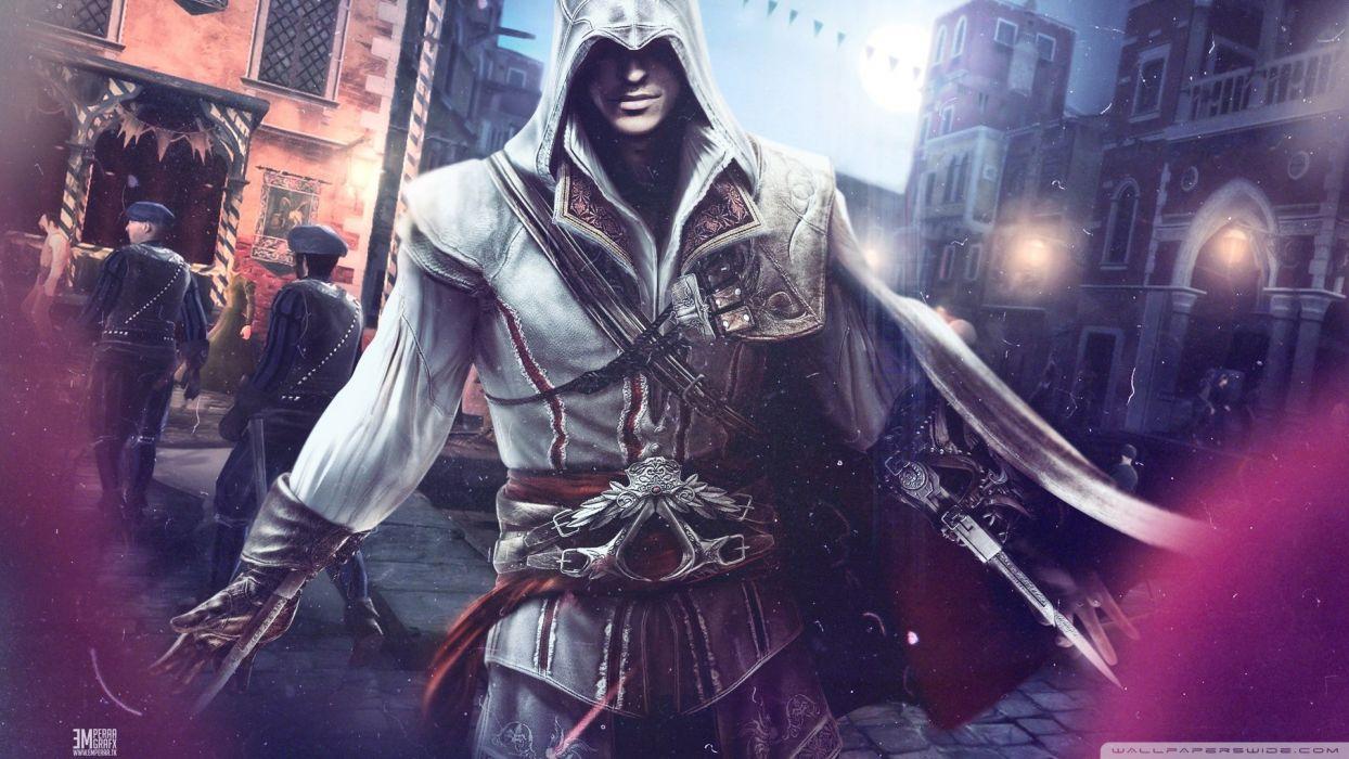 assassin Assassins Creed Ezio Auditore da Firenze wallpaper