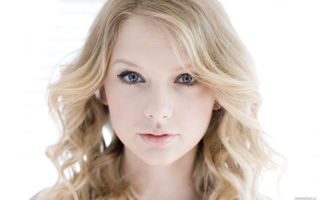 blondes women Taylor Swift celebrity singers faces wallpaper