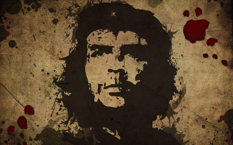 multicolor Che Guevara murderer wallpaper