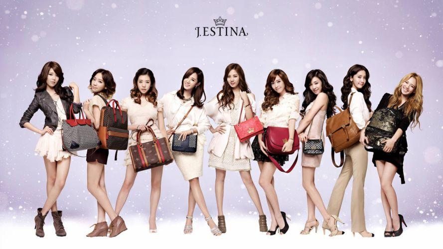 women music Girls Generation SNSD Asians Korean K-Pop wallpaper