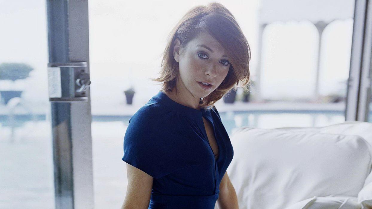 Alyson Hannigan women redheads models wallpaper