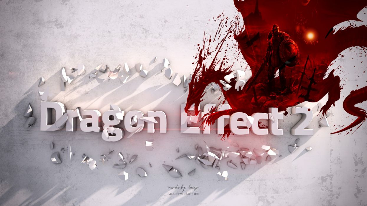 Mass Effect Dragon Age crossovers effect Desing lacza wallpaper