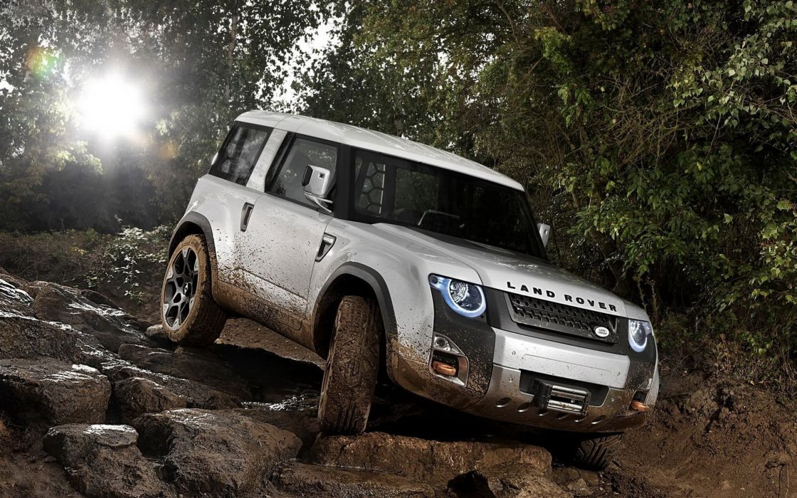 cars Land Rover white cars wallpaper