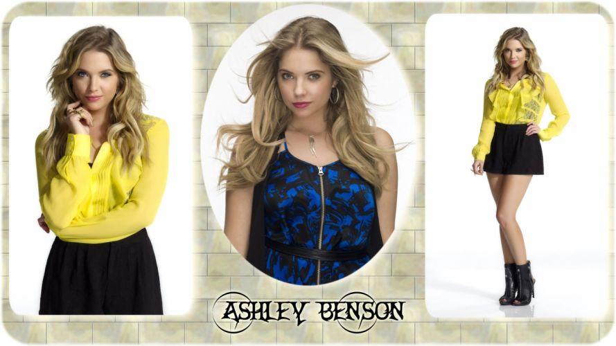 blondes women Ashley Benson wallpaper