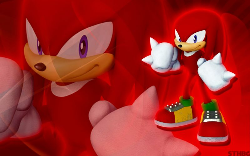 Sonic the Hedgehog video games Knuckles the Echidna Game characters Sonic Team wallpaper