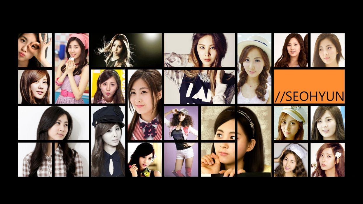 Girls Generation SNSD Asians Seohyun Korean K-Pop wallpaper