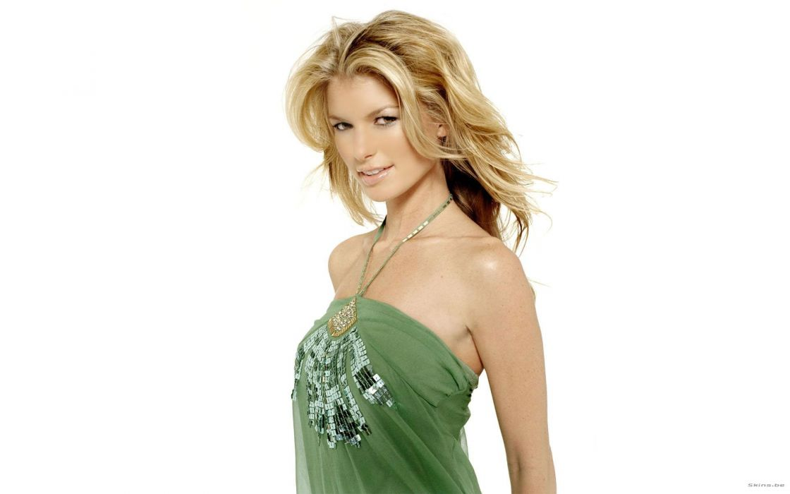 blondes women models Marisa Miller wallpaper