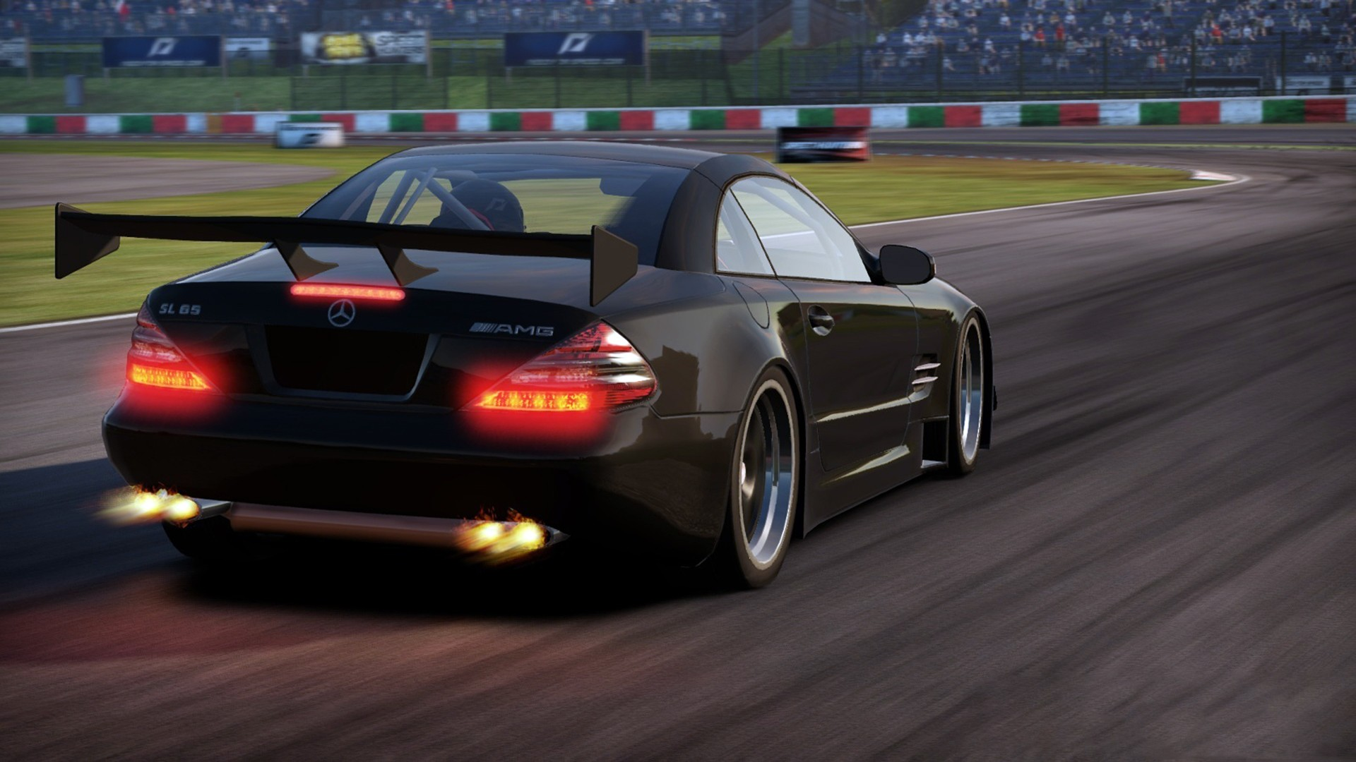 Video games cars games need for speed shift 2 unleashed for Mercedes benz games
