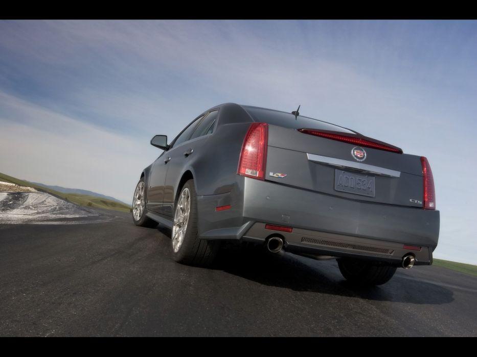 cars Cadillac Cadillac CTS low angle wallpaper