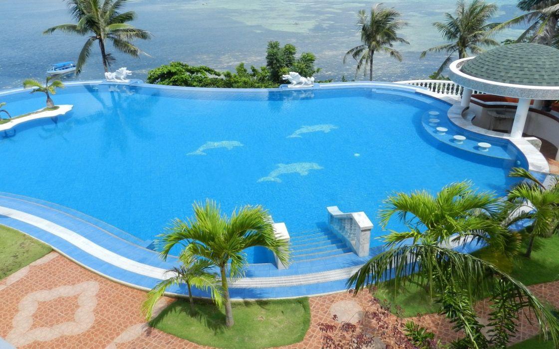 swimming pools wallpaper