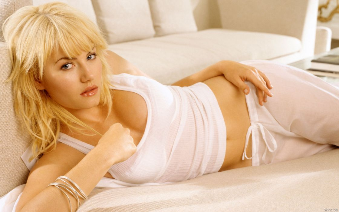 blondes women Elisha Cuthbert actress wallpaper