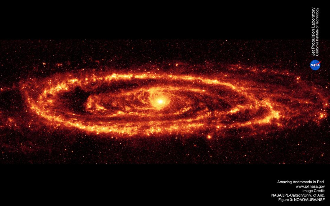 outer space andromeda science fiction wallpaper