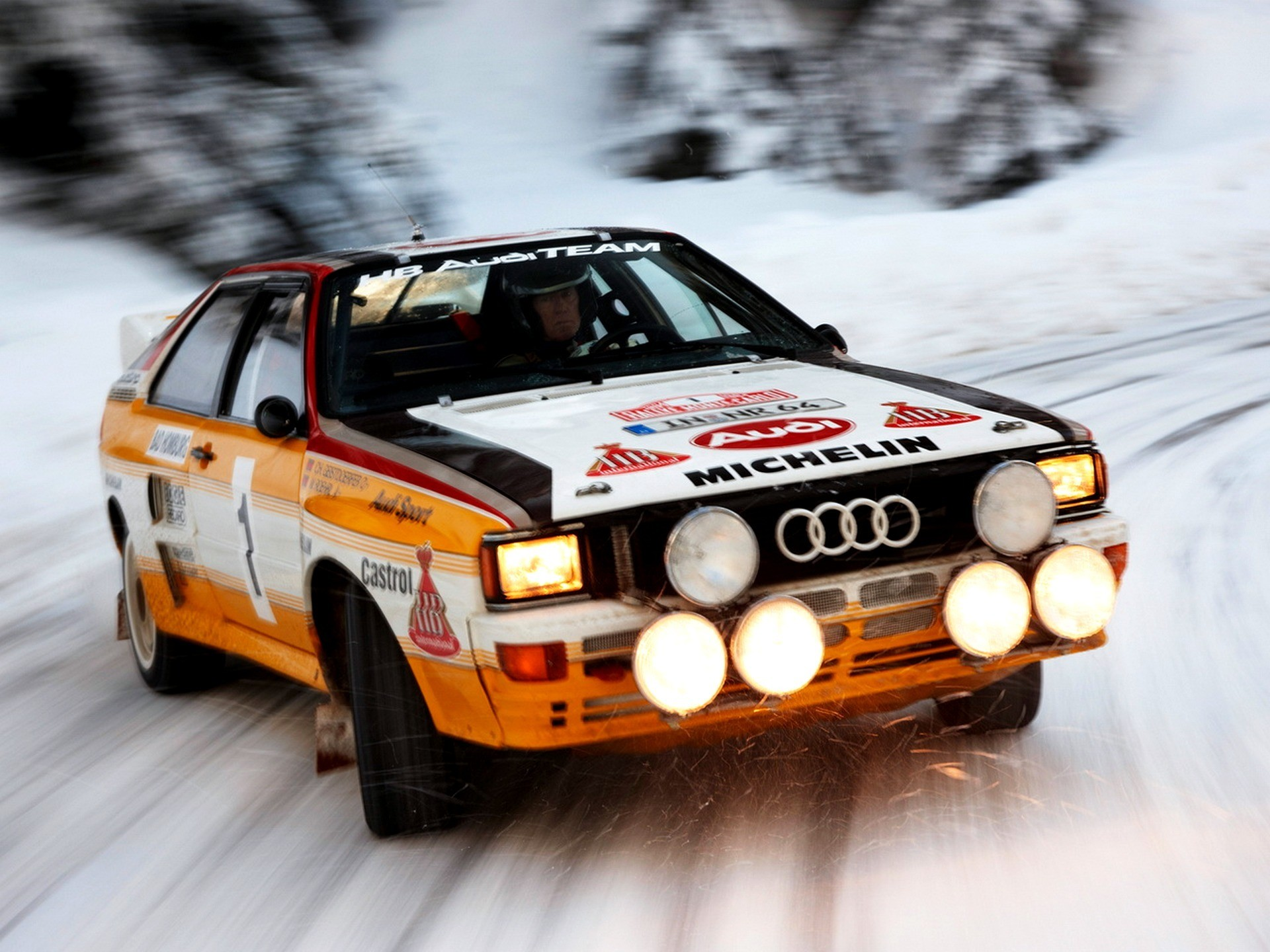 Snow Rally Audi Quattro Speed Rally Car Wallpaper 1920x1440 193464 Wallpaperup