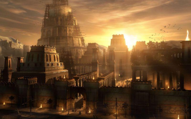 CGI Prince of Persia Babylon Raphael Lacoste wallpaper