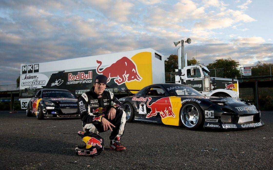 Mazda RX-7 Red Bull wallpaper